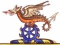 Cartoon for the Dinder Crest