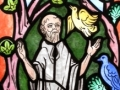 Cartoon of Saint Francis