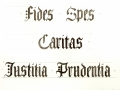 Inscriptions - Virtues
